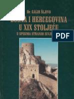 Bosna i Hercegovina u XIX Stoljecu u Spisima Stranih Izvjestaca GALIB SLJIVO