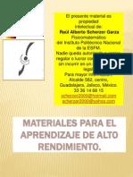 Instructivo Del Paquete Scherzer de Material