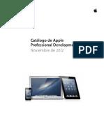 Apple ProfessionalDevelopmentCatalogWeb