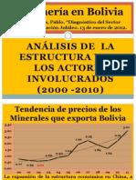 Exposicion Mineria en Bolivia, p Poveda