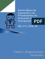 Clase 3-Norma Ergonomica