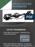 Aplicación de los ejes de transmision