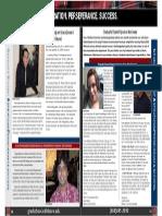Graduation Newsletter Feature
