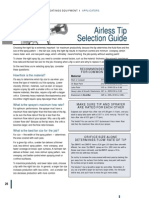 Graco Airless Tip Selection Guide