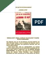 ¿P0R-QUE-ME-EXCOMULGARON-Â¿CISMA-O-FE-Pbro-Joaquin-Saenz-y-Arriaga
