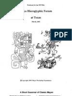 Short Grammar Classic Maya