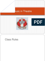 Impact of Music Lesson 4 Music in Theatre