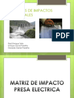 Matrices de Impactos Ambientales