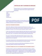 LA CONSTITUCIÓN POLÍTICA DE 1993