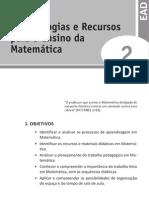 Didática - Metodologia para Recurso do ensino da matemática - U2