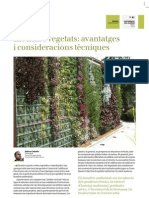 Els Murs Vegetats - Advantatges i Consideracions Tecniques
