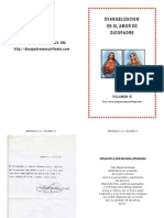 Vol 13 EVANGELIZACION EN EL AMOR DE DIOS PADRE - MENSAJES A JV