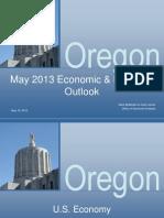 May 2013 Oregon Economic and Revenue Forecast Presentation