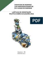 Cartilha de Orientacoes Politicas Da Arquidiocese