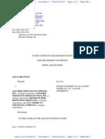 BRANNON v. AON RISK SERVICES SOUTHWEST, INC., et al Complaint
