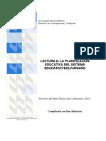 Lectura 8 Planific Educativa Bolivariana Mppe