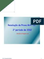 exercícios revisão 2 ano 2 período