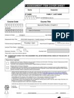 c3109550 EDUC4090 A1 Quality Analysis and Feedback ID 320945299