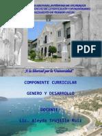 Presentacion Genero en Desarrollo Octubre 2012