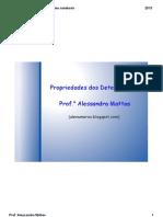 Propriedades de Determinantes 2013 (1)