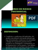 Factores de Riesgo Psicosocial 11 Oct