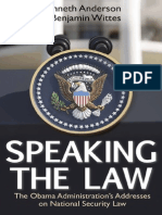 Speaking the Law (Chapter 2), by Kenneth Anderson and Benjamin Wittes