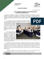 16/05/11 Germán Tenorio Vasconcelos CAPACITA COFEPRIS A PERSONAL DE REGULACIÓN SANITARIA PARA ATENCIÓN DE EMERGENCIAS