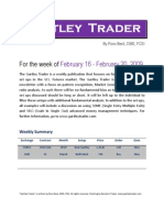 Gartley Trader Newsletter 02/16/09