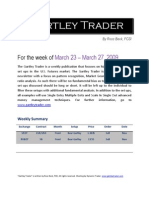 Gartley Trader Newsletter 03/23/09