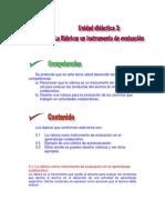 Unidad-didáctica-3 la rúbrica