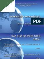 Planeación Estratégica, Mario Garcia Garcia, 2007-1