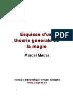 Theorie Generale de La Magie