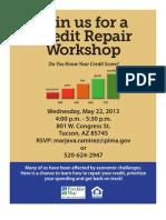 052213 Credit Repair Workshop