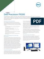 Dell Precision FX100 Spec Sheet