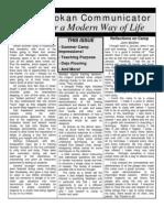 The Seidokan Communicator, July 2003
