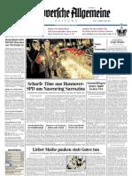 Hannoversche Allgemeine Zeitung 20110427