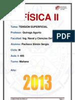 4° Laboratorio De Fisica 2 (Tensión Superficial) - https://www.facebook.com/YorSergio12.docx