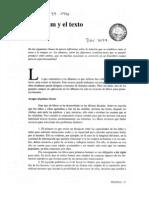 Teresa Colomer - El álbum y el texto (Revista Peonza)