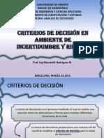 Análisis de Decisiones Tema 8