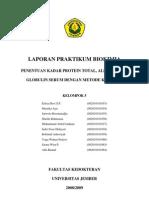 Laporan Praktikum Biokimia - Protein