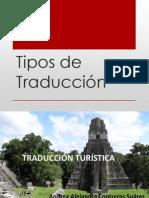 Tipos de Traducci+_n