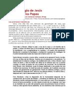 La genealogía de Jesús y la lista de los Papas