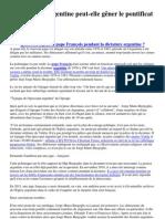 130315_La dictature argentine peut-elle gêner le pontificat de François