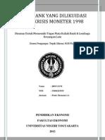 16 Bank Yang Dilikuidasi 1 November 1997