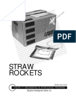 Straw Rockets Sample