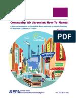 EPA Community Air Screening How-To Manual