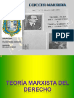 Teoria Marxista Del Derecho