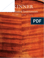Skinner Auction Catalogue 2455--Fine Musical Instruments