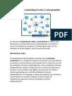 Diferencias Entre Marketing de Redes y Venta Piramidal
