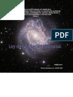 Ley de Gravitacin Universal